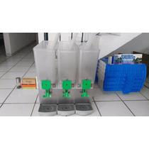 Maquinas Triples P/aguas Frescas Para Negociosmaestralefrías
