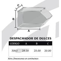 Exhibidor Y Despachador De Dulces Individual Mediano Mod3063
