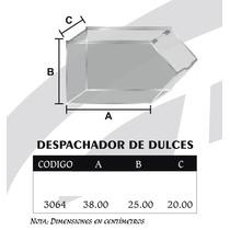 Exhibidor Y Despachador De Dulces Individual Grande Mod3064