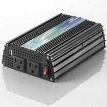 Inversor De Voltaje 12v / 120v, 300 Watts, Onda Pura
