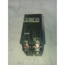 Interruptor Termomagnetico Breaker 2 Polos