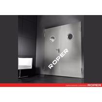 Puerta Doble| Fuego Emergencia Metalica 1.80x2.15 C/ Barra