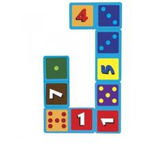 Domino Jumbo Con Números Material Didactico