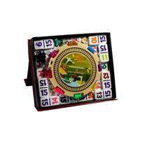 Domino Doble 15 De Números (no Puntos), Con Accesorios!!!!!!