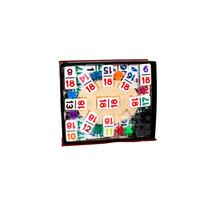 Domino Doble 18, De Números No Puntos. Incluye Accesorios!!!