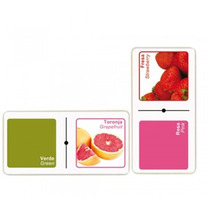 Domino Colores Y Frutas Material Didactico