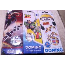 Domino Chico Toy Story Minniums Y Súper Man 28pzs