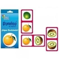 Domino De Estireno Frutas Material Didactco