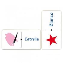 Domino Figuras Geométricas Y Colores Material Didactico