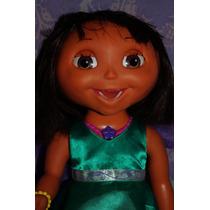 Dora La Exploradora Habla Y Mueve Ojos Y Boca Disney Hada