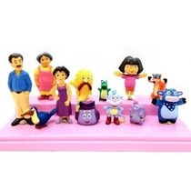Grhose Dora La Exploradora Deluxe Figuras 12pcs Toy Playset