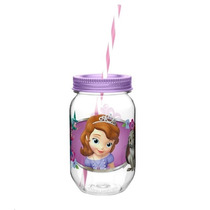 Fiesta Princesa Sofia Mason Jar Infantil Dulcero