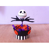 Dulceros Para Fiesta, Halloween De Jack Skellington