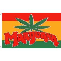 Bandera Del Hippie - Marihuana Hippy 90cmx 60cm (3ftx 2ft) D