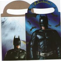 Cajita Feliz Batman 12x21x8cm (paquete Con 10 Piezas)