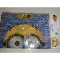 Folder Mi Villano Favorito 2 Minion Nuevo!!! Escolar, Fiesta
