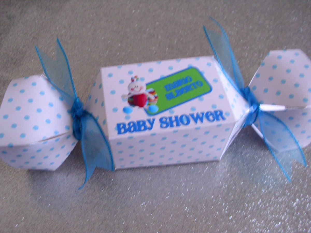 Dulceros Recuerdos Invitacion Bautizo Baby Shower Cumpleaños - $ 12