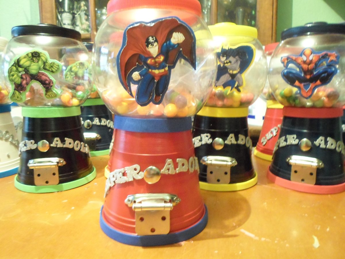 Centros mesa dulceros para fiestas infantiles car - Centros d mesa ...