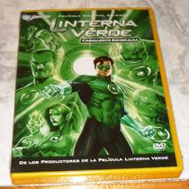 Dvd Green Lantern Caballeros Esmeralda ¡rebajado!