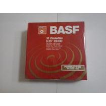 Diskette 5 1/4 Hd, Basf, Nuevo, Envoltura Original, Garantia