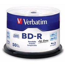 Campana Blu-ray Verbatim Bd-r 6x 25gb 1 Capa 50 Discos