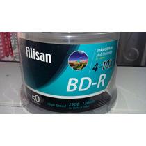 Campana Blu-ray Alisan Bd-r 4-10x, 25gb, 130 Min, Imprimible
