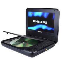 Gratis Envio Dvd Portatil Bateria 7 Philips Lcd Bocinas Mp3