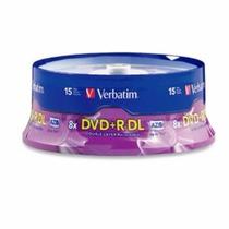 Dvd+r Dl Verbatim Azo 8.5gb 8x Torre C/20 Emiratos Arabes