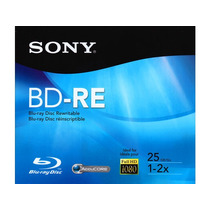 Bd-re Disco Blu Ray Sony Regrabable En Estuche