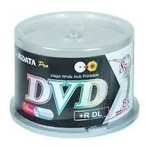 Campana Dvd+r Dl Double Layer Ridata, 8x, 240 Minutos, Impri