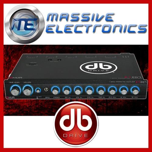Ecualizador Parametrico Db Drive E7 Eq7 7bandas 8volts Prof