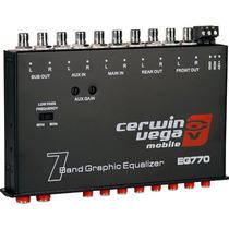 Audioonline Ecualizador Cerwin Vega Eq770 De 7 Bandas 2014