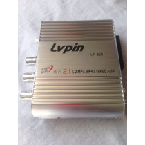 Amplificador Lvpin Hifi 2.1 Canales 60w Lp-838 Mosfet Nuevo
