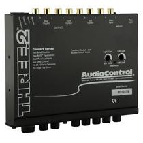 Ecualizador Y Crossover Audiocontrol Three.2 Con Entradas