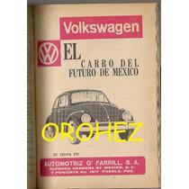 Revista Contenido Anuncio Volkswagen Edgar Allan Poe 1964