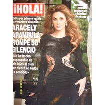 Revista Hola: Presenta En Portada A: Araceli Arambula.