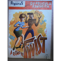 A Ritmo De Twist Fotocomic Mexico 1962 Teen Tops Hooligans