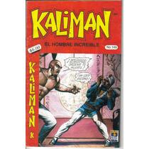 Kaliman El Hombre Increible.comics. $25.00