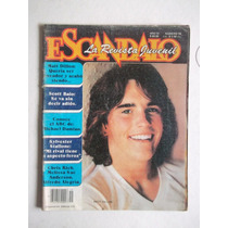 Escándalo,revista N.19,1981,matt Dillon,póster John Stamos