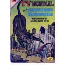 Tlax Comic Tv Mundial #150 Narraciones Terrorificas