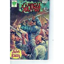 Tlax Comic De Samurai #56 John Barry Edit. Vid