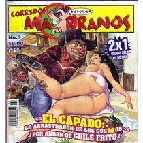 Tlax Comic De Corridos Marranos #3 Editorial Toukan