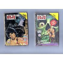 Tlax Lote De Comics De El Libro Rojo De Novedades Editores