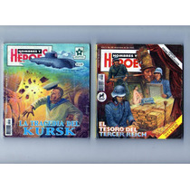 Tlax Lote De Comics Hombres Y Héroes ( Historias De Guerra)