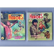 Tlax Lote De Comics Hombres Y Héroes Pimera Epoca N° Bajos