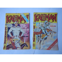 Comics Kaliman: Ediciones De Aniversario 1977-78