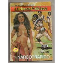 Comic La Novela Policiaca Nfl Futbol Americano De 1989