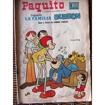 Historieta, Paquito Presenta La Familia Burron, N°17123