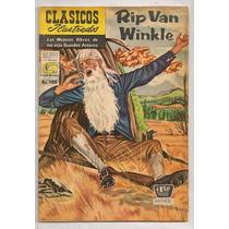 Clásicos Ilustrados #100 Rip Van Winkle 1960
