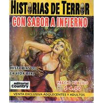 Tlax Comic Historias De Terror ( Con Sabor A Infierno)